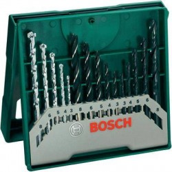 SET ET FORETS A METAUX/A BOIS/ A PIERRE 15 ELEMENTS BOSCH MINI X-LINE